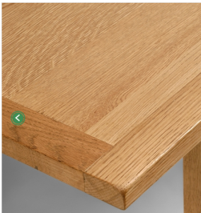 Safe Oak Dining Table