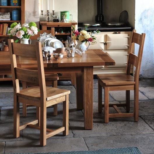 Montague Oak 180cm-230cm Extending Dining Table